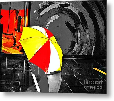 Umbrella 2 Metal Print