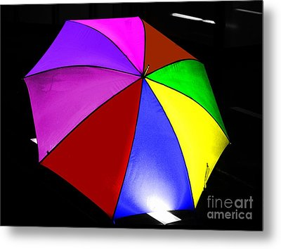 Metal Print featuring the photograph Umbrella by Blair Stuart