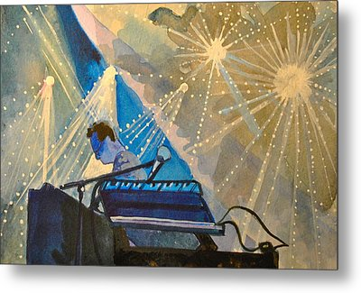 Umphre's Mcgee At The Pony Metal Print by Patricia Arroyo