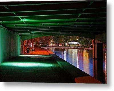 Under The Bridge Metal Print by Joann Vitali