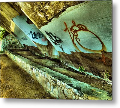 Under The Bridge Metal Print by Steven Ainsworth