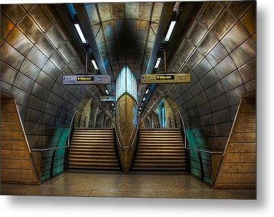 Underground Ship Metal Print by Svetlana Sewell