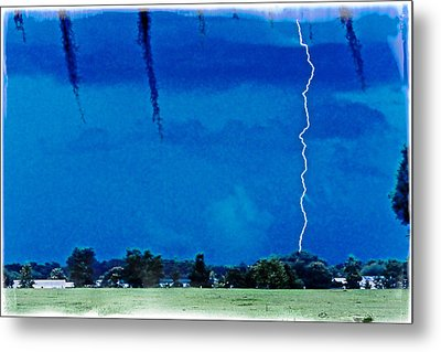 Metal Print featuring the photograph Underneath- My Fears by Janie Johnson