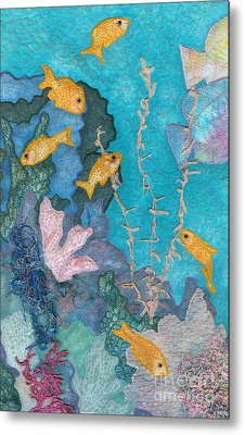 Underwater Splendor II Metal Print by Denise Hoag