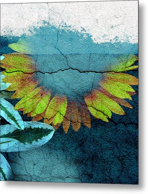 Underwater Sun Metal Print by The Artist Project