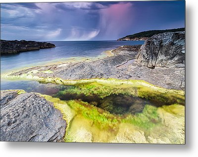 Unexpected Storm Metal Print by Evgeni Dinev