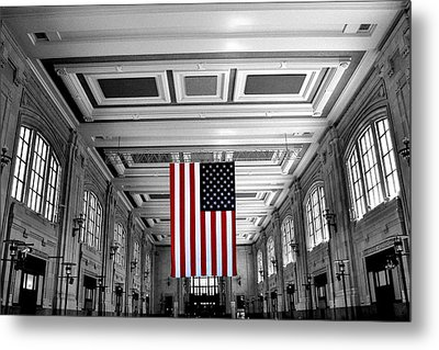 Metal Print featuring the photograph Union Glory by Brian Duram