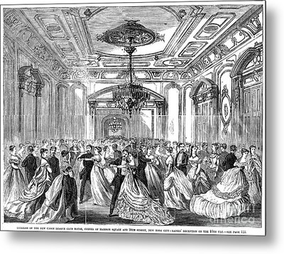 Union League Club, 1868 Metal Print by Granger