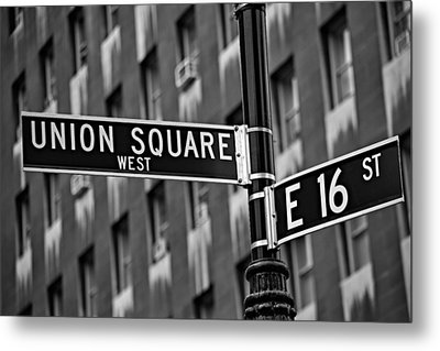 Union Square West Metal Print by Susan Candelario