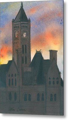 Union Station Metal Print by Arthur Barnes