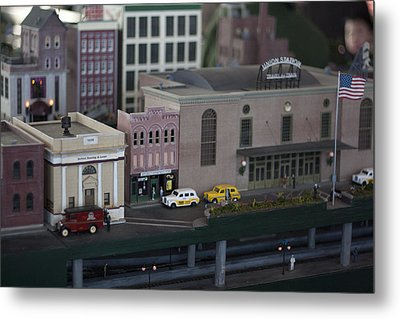 Union Station Metal Print by Kevin  Sherf