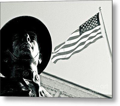 United We Stand Theme Metal Print by Syed Aqueel