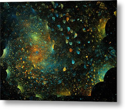 Universal Minds Metal Print by Betsy Knapp