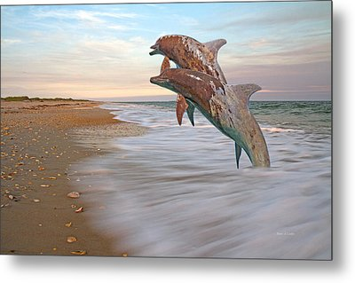 Unknown Thought Metal Print by Betsy Knapp