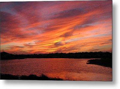 Metal Print featuring the photograph Untitled Sunset-2 by Bill Lucas