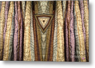 Unveiled Metal Print by Ron Bissett