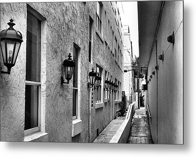 Up An Alley Metal Print