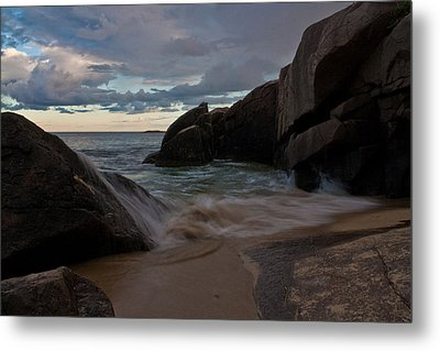 Up And Over Metal Print by Greg DeBeck