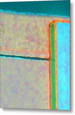 Metal Print featuring the digital art Up And Over by Richard Laeton
