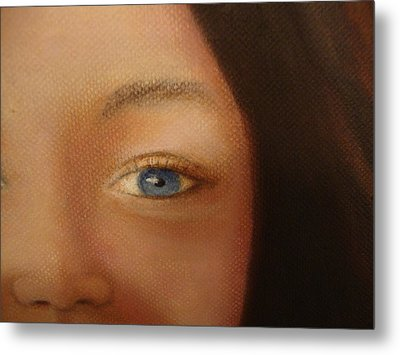Up Close And Pretty Metal Print by Deby Kalush
