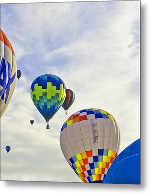Up Up And Away Metal Print by Carolyn Meuer-Pickering of Photopicks Photography and Art