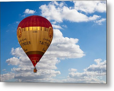 Up Up And Away Metal Print by Pete Reynolds