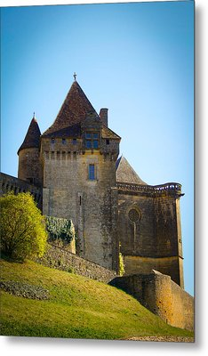 Upon A Hill - Biron Castle Metal Print by Georgia Fowler