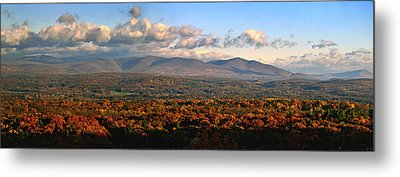 Upstate Ny Panorama Metal Print by Terry Cork