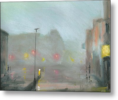 Urban Mist 2 Metal Print by Paul Mitchell