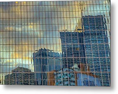 Urban Reflections Metal Print by Drew Castelhano