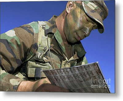 U.s. Air Force Lieutenant Reviews Metal Print by Stocktrek Images