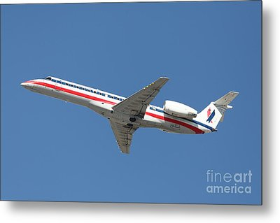 Us Airways Jet Airplane  - 5d18405 Metal Print by Wingsdomain Art and Photography