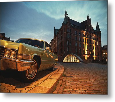 Us Car II Metal Print by Nina Papiorek