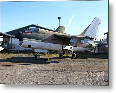 Us Fighter Jet Plane . 7d11239 Metal Print by Wingsdomain Art and Photography