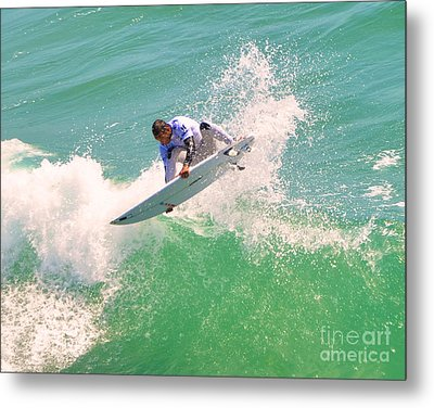 Us Open Of Surfing 2012       12 Metal Print by Jason Waugh