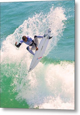 Us Open Of Surfing 2012      10 Metal Print by Jason Waugh