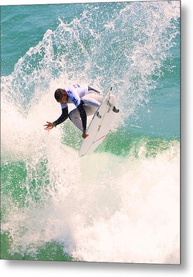 Us Open Of Surfing 2012     11 Metal Print by Jason Waugh