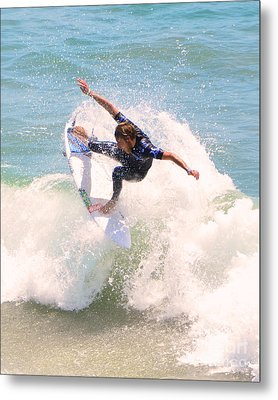 Us Open Of Surfing 2012      4 Metal Print by Jason Waugh