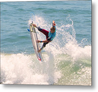 Us Open Of Surfing 2012   1 Metal Print by Jason Waugh