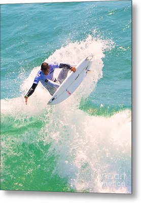 Us Open Of Surfing 2012    9 Metal Print by Jason Waugh