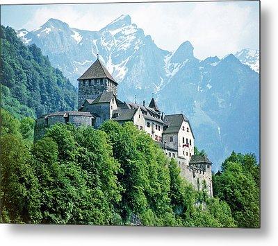 Vaduz Castle Lichtenstein Metal Print