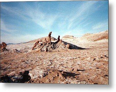 Valle De La Luna - Atacama Desert Northern  Metal Print by Ronald Osborne