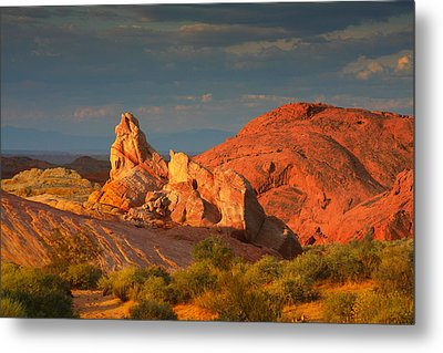 Valley Of Fire - Picturesque Desert Metal Print by Christine Till