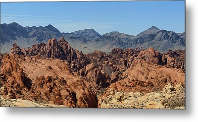 Valley Of Fire 2 Of 4 Metal Print by Gregory Scott