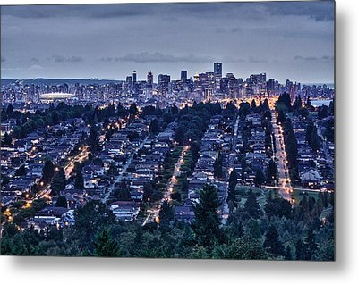 Metal Print featuring the photograph Vancouver Bc Canada by Scott Holmes