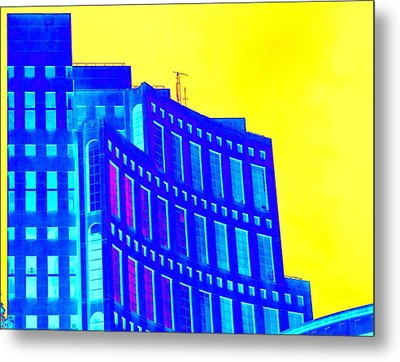 Vancouver Library 3 Metal Print by Randall Weidner