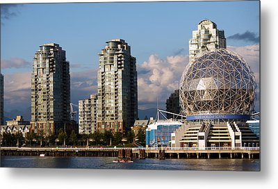 Vancouver's Science Centre Metal Print by Rae Tucker