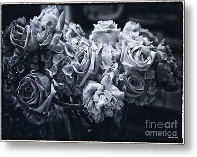 Vase Of Flowers 2 Metal Print by Madeline Ellis