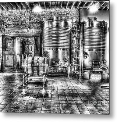 Vat To Barrel Metal Print by Jimmy Ostgard
