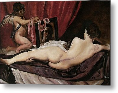 Velazquez's Venus Metal Print